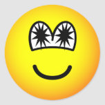 Star eyed emoticon   sticker_sheets