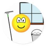 Window cleaner emoticon   sticker_sheets