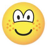 Freckles emoticon   sticker_sheets