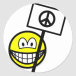 Ban the bomb smile   sticker_sheets