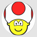 Toad buddy icon video game  sticker_sheets