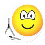 Triangle emoticon   sticker_sheets