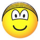 Hairnet emoticon   sticker_sheets