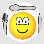 Cutlery emoticon   sticker_sheets