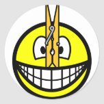 Pegged nose smile   sticker_sheets