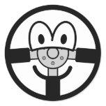 Steering wheel emoticon   sticker_sheets