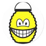 Japanese lantern smile   sticker_sheets
