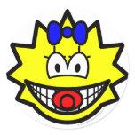 Simpson smile Maggie  sticker_sheets