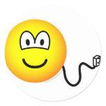 Unplugged emoticon   sticker_sheets