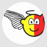 Angel or devil buddy icon   sticker_sheets
