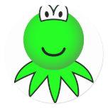 Kermit the Frog emoticon   sticker_sheets