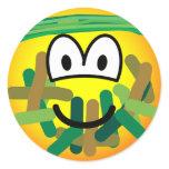 Camouflage emoticon   sticker_sheets