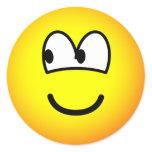 Looking left emoticon   sticker_sheets