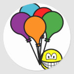 Party balloons smile   sticker_sheets