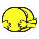Hugging smile   sticker_sheets