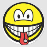 Tongue stud smile   sticker_sheets
