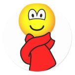 Scarf emoticon   sticker_sheets