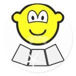 Face sun reflector buddy icon   sticker_sheets