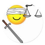 Justice emoticon   sticker_sheets
