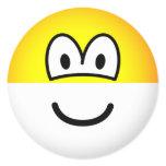 Half full emoticon Optimist  sticker_sheets