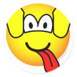 Dog emoticon   sticker_sheets