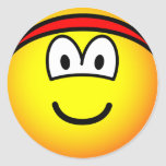 Headband emoticon   sticker_sheets