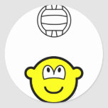 Volleyball playing buddy icon   sticker_sheets