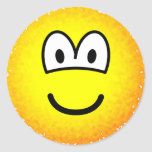 Fuzzy emoticon or emoticon after accidentally falling into the washing-machine  sticker_sheets