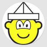 Paper hat buddy icon   sticker_sheets