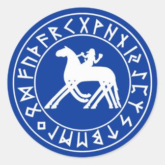 Sticker Sleipnir Shield on Blk