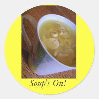 Sticker Soup's On!
