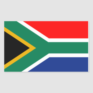 Sticker South African Flag