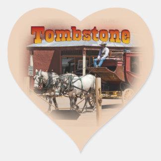 Sticker: Stagecoach Ride #1 (Heart) Heart Sticker