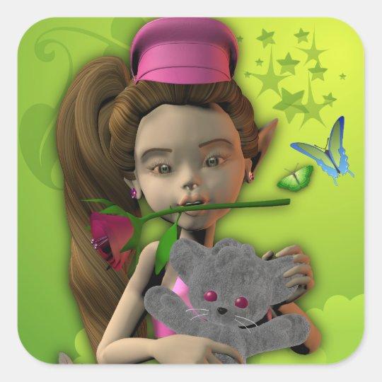 Sticker Sticker teddy elf Lola 1