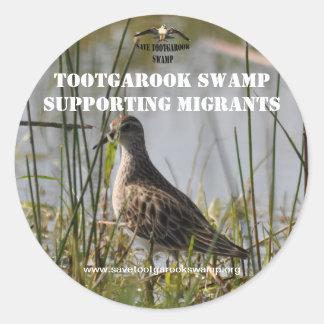 Sticker Supporting Migratory Birds