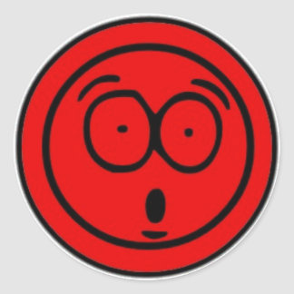 Sticker Suprised face
