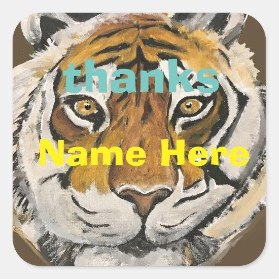 Sticker Tai Chi Qigong Tiger Iconic Insight