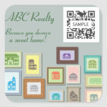 Sticker Template ABC Realty