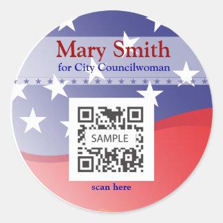 Sticker Template Campaign