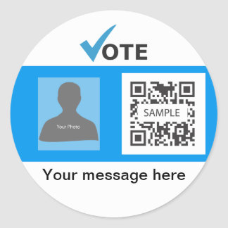 Sticker Template Conservative Party