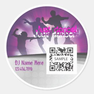 Sticker Template Dance