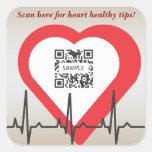 Sticker Template Heart Health