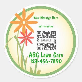 Sticker Template Lawn Care