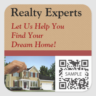 Sticker Template Realty Experts