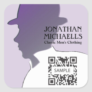 Sticker Template Retail Men's Clothing