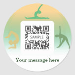 Sticker Template Yoga