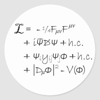 Sticker - The Standard Model