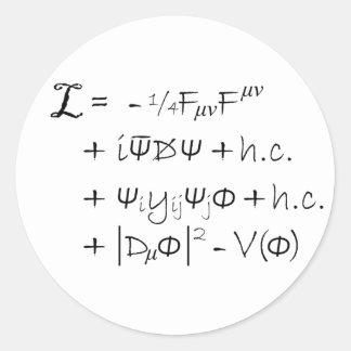 Sticker - The Standard Model