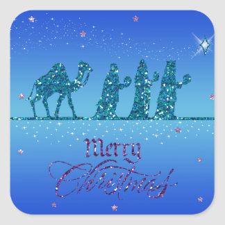 Sticker - Three Kings Magos - Christmas