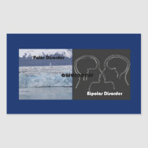 sticker to draw attention to bipolar awareness